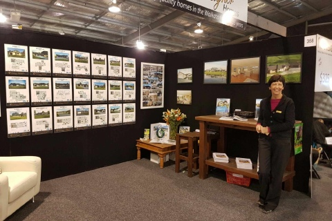 All set to go at the Waikato Home & Garden Show 2016